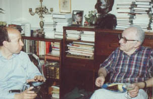 Murray Rothbard and Howie Rich early 70s